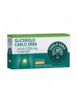 GLICEROLO*AD 18SUPP 2250MG