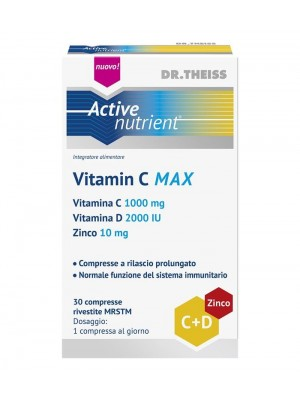 Vitamin C MAX | Dr. Theiss Active Nutrient