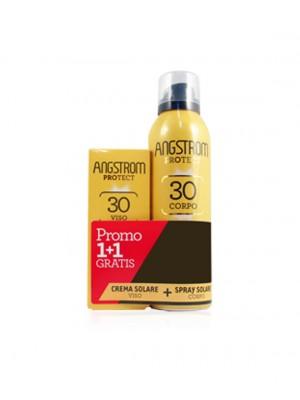 ANGSTROM PROTECT DUO SPRAY SPF 30 CORPO + OMAGGIO CREMA SOLARE VISO