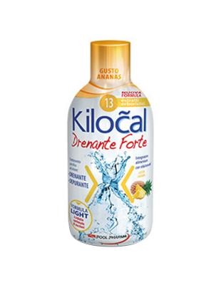 Kilocal drenante forte - gusto ananas 500ml
