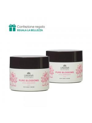Scrub corpo + Crema corpo Umami (Pure Blossom)