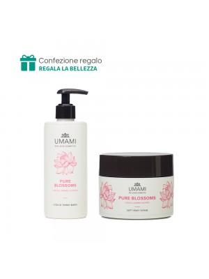 Sapone mani + Scrub corpo Umami (Pure Blossom)