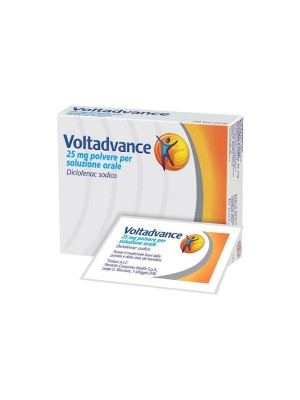 VOLTADVANCE POLVERE 25 mg