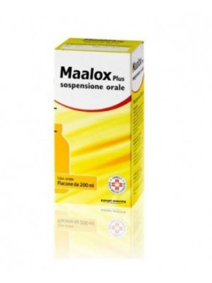MAALOX PLUS*OS SOSP 200ML