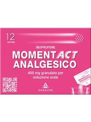 MOMENTACT ANALGESICO*12BUST