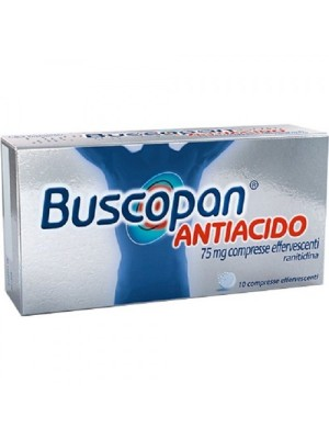 BUSCOPAN ANTIAC*10CPR EFF 75M