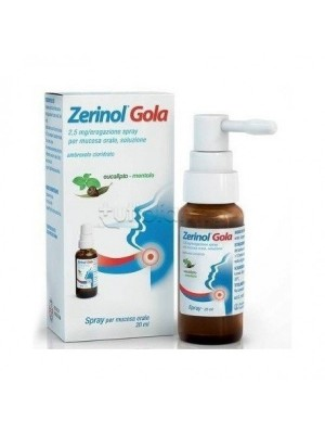 ZERINOL GOLA*SPRAY FL 20ML