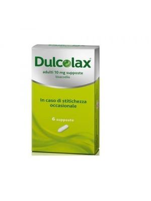 DULCOLAX*AD 6SUPP 10MG