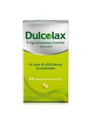 DULCOLAX*40CPR RIV 5MG