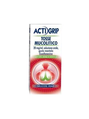 ACTIGRIP TOSSE MUCOLITICO 20mg/ml