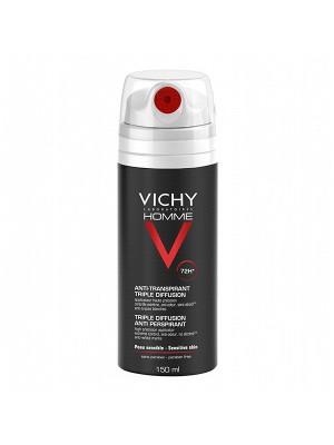 VICHY Deodorante anti-traspirazione tripla diffusione 72h