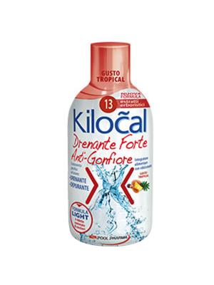 Kilocal drenante forte - gusto tropicale 500ml