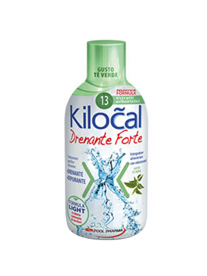 Kilocal drenante forte - gusto the verde 500ml
